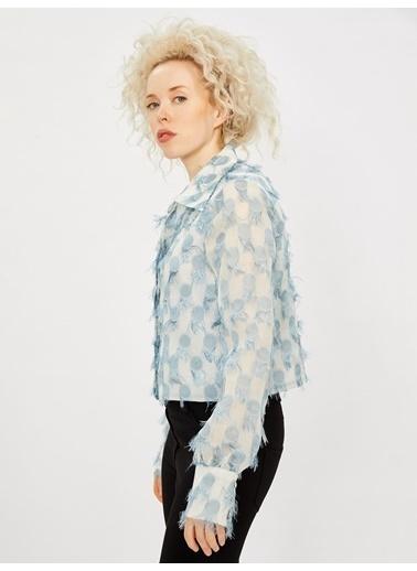 Vekem-Limited Edition Ceket Beyaz